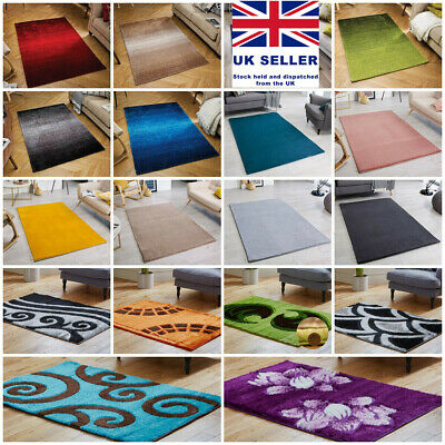£24.69 • Buy Modern Small Extra Large Silky Soft Mustard Multi Area Rugs On Clearance Sale