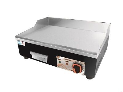 Commercial Kitchen Electric Contact Hotplate Grill Griddle 55cm Cooker  • 99.99£