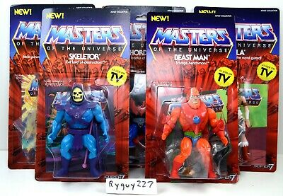 $150 • Buy MOTU, He-Man Filmation Style Lot, Masters Of The Universe, Super7, Figure, Set
