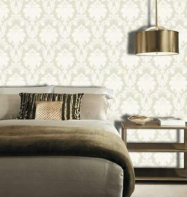 Arthouse Opera Romeo Damask Feature Wallpaper Cream Gold Heavy Weight Shimmer • 7.29£