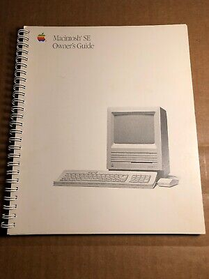 $25.01 • Buy Apple Macintosh SE | Owner's Guide | 030-3296-A | Excellent Condition