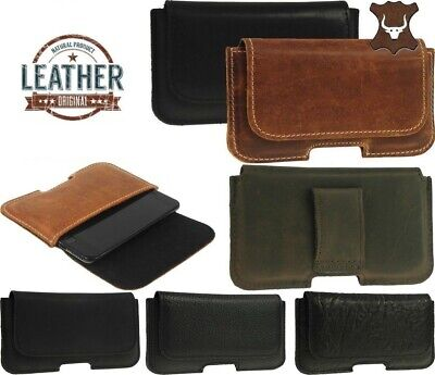 $ CDN19.79 • Buy Ricardsson Classic Made Of Cowhide Pouch With Belt Loop Case Cover For Phones