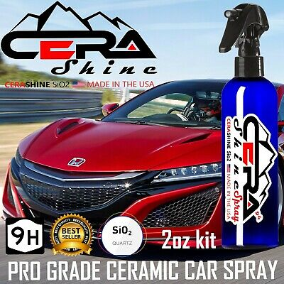 $19.95 • Buy Nano Ceramic Car Coating Spray Pro Grade  9h Paint Sealant  Car Polish Wax Gloss