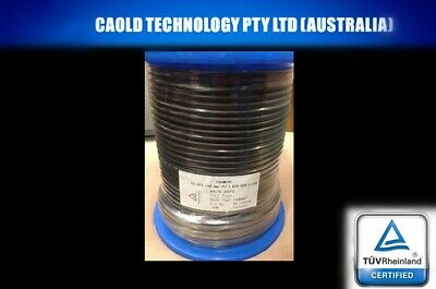 AU23.98 • Buy 6mm Single Core Solar Power Cable Photovoltaic Per 10 Meters 10m Free Postage
