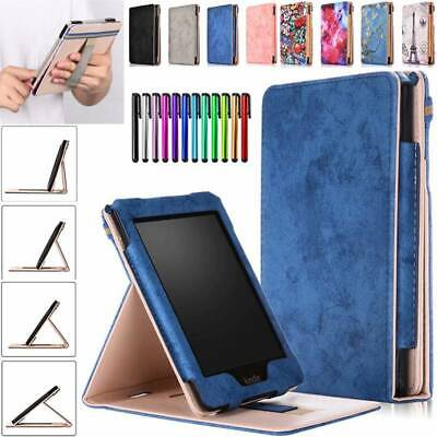 AU14.06 • Buy Smart Leather Stand Handle Case Cover For Amazon Kindle Paperwhite 1 2 3 4 6