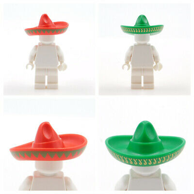 $ CDN2.22 • Buy 1x Lego Sombrero Green Or Red Your Pick Mexican Hat For Minifigure