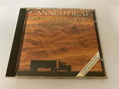 Canned Heat - On The Road Again Cd 1989 • 4.99£