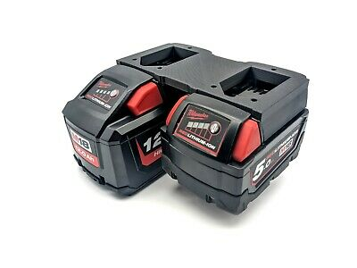 AU24.97 • Buy Milwaukee M18 Dual Battery Holder REDLITHIUM High Demand - 9amp And 12amp V2