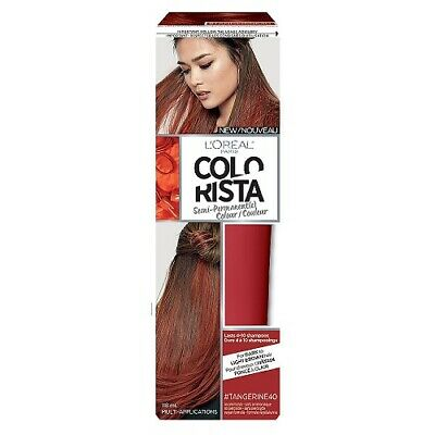 L'Oreal Colorista Semi-Permanent Hair Color, #Tangerine40 • 4.95£