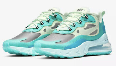 $94.95 • Buy Nike Air Max 270 React Mens Running Shoes Psychedelic Art Hyper Jade 720 Element