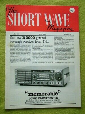 £6.49 • Buy The Short Wave Magazine / April 1983 / A Guide To Amature Radio 19th Edition