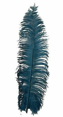 $14.99 • Buy 1 PERIWINKLE Ostrich FEATHER 23-28  Full Wing PLUMES; Bridal/Wedding/Centerpiece