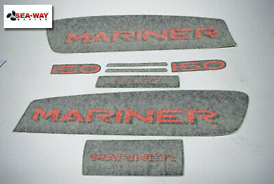 $69.99 • Buy Mariner Super Magnum Outboard 150hp Decal Set 37-849543A-7