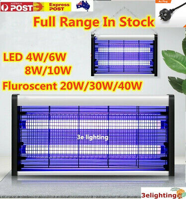 AU24.99 • Buy Electric UV Mosquito Insect Killer Lamp Indoor Outdoor Fly Bug Zapper Trap Light
