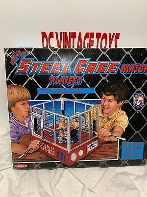 $ CDN1014.95 • Buy AWA REMCO OFFICIAL ALL STAR STEEL CAGE MATCH PLAY SET  WRESTLING RING (New) 1985