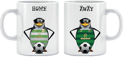 Two Personalised Football Mugs - Mix From 6 Designs • 27£