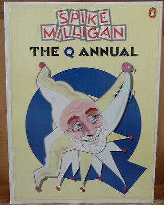 Book. Spike Milligan, The Q Annual1980 • 4£