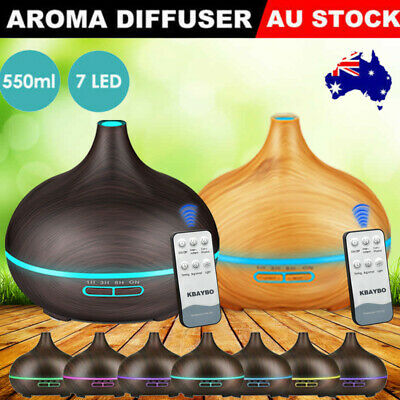 AU28.22 • Buy LED Ultrasonic Essential Oil Aroma Diffuser Aromatherapy Air Humidifier AU Stock