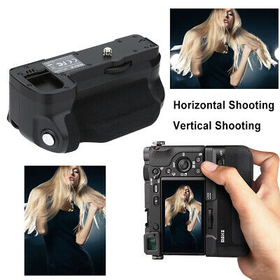 AU63.35 • Buy Meike Vertical Battery Grip For Sony A6300/a6000 DSLR Camera Replacement Black
