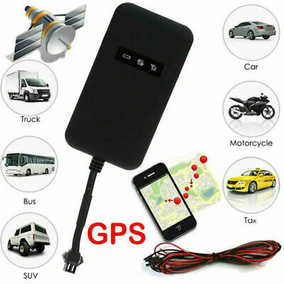 UK Mini Car GPS Tracker GSM GPRS Real Time Spy Vehicle Tracking Locator Device • 12.49£