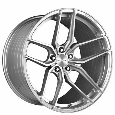 $1800 • Buy 4ea 21  Staggered Stance Wheels SF03 Brush Silver Rims (S1)