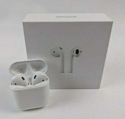 $ CDN131.33 • Buy Apple AirPods 2nd Generation With Charging Case MV7N2AM/A - White