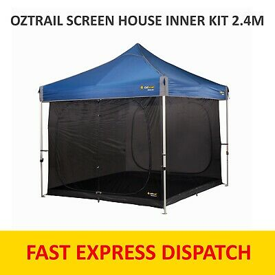 AU125 • Buy OZTRAIL SCREEN HOUSE INNER KIT 2.4M - Suits 2.4m Gazebo - Tent