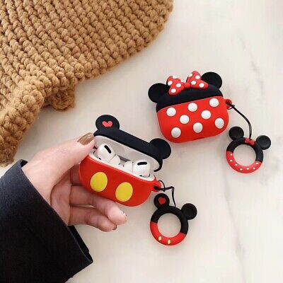 $ CDN6.04 • Buy Cartoon Mouse For Apple Airpods Pro 2 1 Charging Case Minnie Silicone Ring Cover