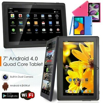AU55.89 • Buy 7  Android Quad Core 1GB+8GB Dual Camera Kids Tablet PC Google WIFI Touch Screen