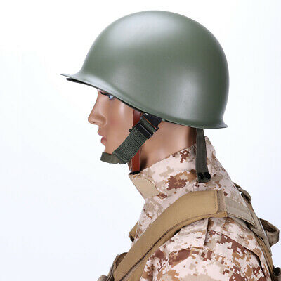 $49.95 • Buy WWII US Military Steel ABS M1 Helmet Cosplay Army Tactical Collectable Replica