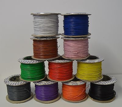 Model Railway Wire - 2.0 Amp 7-02 - Big Range Of Colours - You Choose The Length • 5.90£