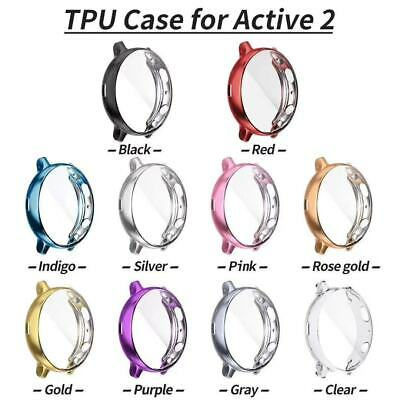AU8.99 • Buy Full Screen Protector Watch Case Cover For Samsung Galaxy Watch Active 2 40/44mm