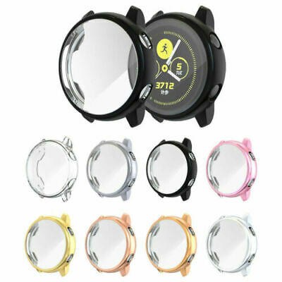 AU8.99 • Buy TPU Case Cover Screen Protector For Samsung Galaxy Watch Active 1gen 40mm Watch