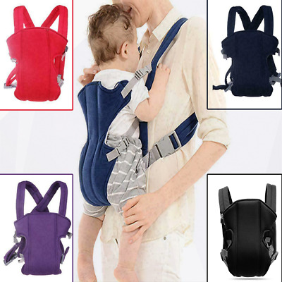 Adjustable Infant Baby Carrier Wrap Sling Hip Seat Newborn Backpack Breathable • 9.99£