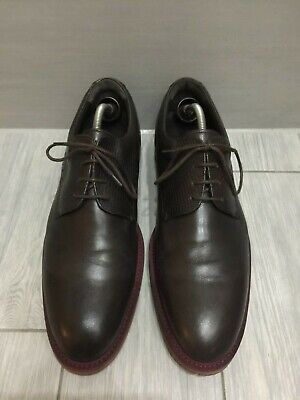 £45 • Buy Mens Brown Leather Charles Tyrwhitt Extra Lightweight Derby Shoes, Uk 11