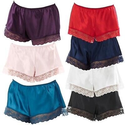 £7.98 • Buy French Knickers Satin & Lace Ladies Womens Underwear Sexy & Elegant Size 8 - 20