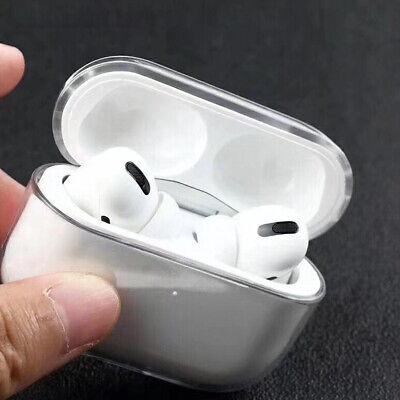 $ CDN5.89 • Buy For New AirPods Pro 2019 Crystal Clear Hard Cover Safety Anti Scratch Thin Case