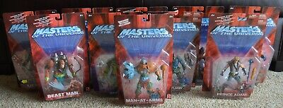 $325 • Buy MOTU, He-Man Figures Lot Of 10, Masters Of The Universe, 200x, MOC Sealed, MISB