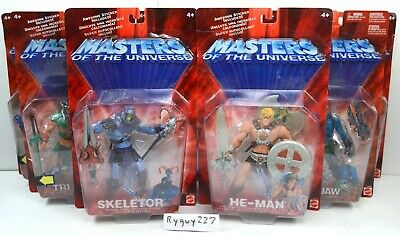$295 • Buy MOTU, He-Man Figures Lot Of 8, Masters Of The Universe, 200x, MOC Sealed, MISB
