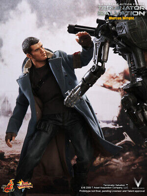 AU495.88 • Buy Dhl Express Hot Toys 1/6 Terminator Salvation Mms100 Marcus Wright Figure