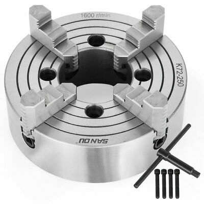 AU183.99 • Buy Lathe Chuck 6 /8 /10  4-Jaw Independent & Reversible K72