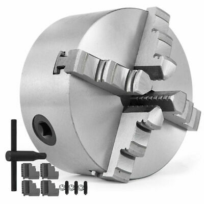 AU139.99 • Buy Lathe Chuck K12 80/100/125/160 Mm Self Centering Reversible 4 Jaw Wood Turning