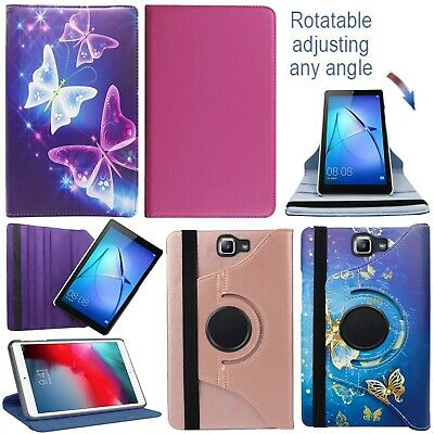 For Samsung Galaxy Tab T860 T515 T720 T580 T560 Tablet 360°PU Leather Case Cover • 5.49£