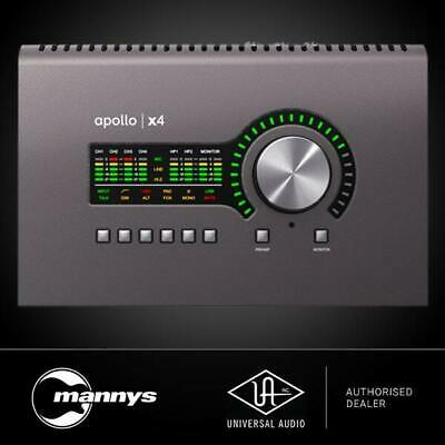 AU2958.68 • Buy Universal Audio Apollo X4 Audio Interface W/ Unison Preamps & UAD2 Processing