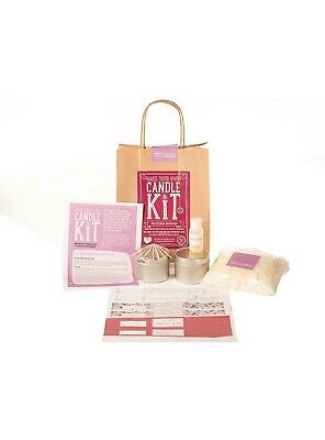 Make Your Own Candle Kit Christmas Greetings Soy Wax Scented • 16.99£