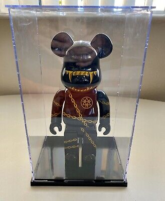 $34.99 • Buy Bearbrick Display Case 400% Acrylic Plastic Box Protection Dustproof Be@rbrick