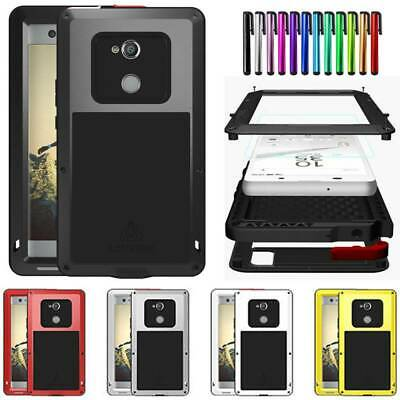 AU40.99 • Buy LOVE MEI Top Metal Glass Case Cover For Sony Xperia XA XA1 XA2 Ultra XZ XZ1 XZ2