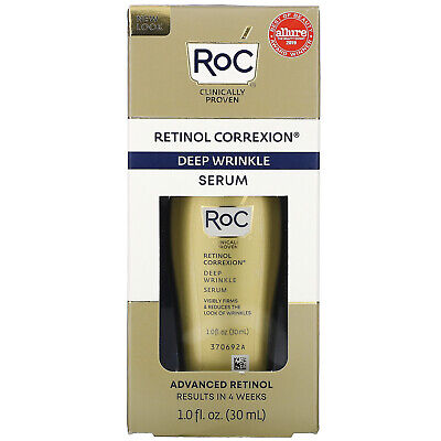 RoC Retinol Correxion Deep Wrinkle Serum Anti-Ageing Cream 30ml  • 29£