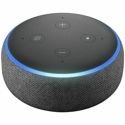 AU128 • Buy Bulk Buy - 2 X Amazon Echo Dot 3rd Gen Smart Speaker Charcoal Fabric