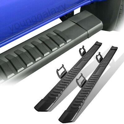 $141.99 • Buy For  6  15-19 Ford F150 Truck Running Boards Nerf Bars Side Step Black Crew Cab